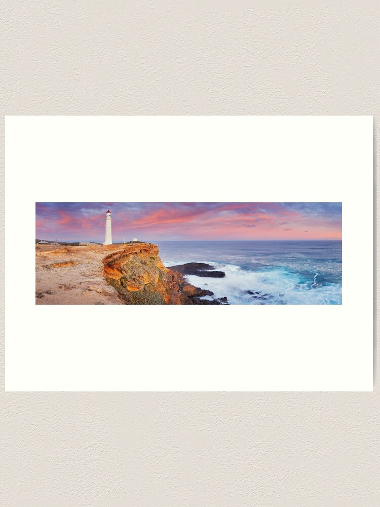 Alternate view of Cape Nelson Lighthouse, Portland, Victoria, Australia Art Print