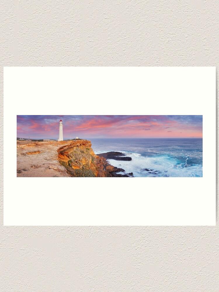 Alternate view of Cape Nelson Lighthouse, Portland, Victoria, Australia Art Print
