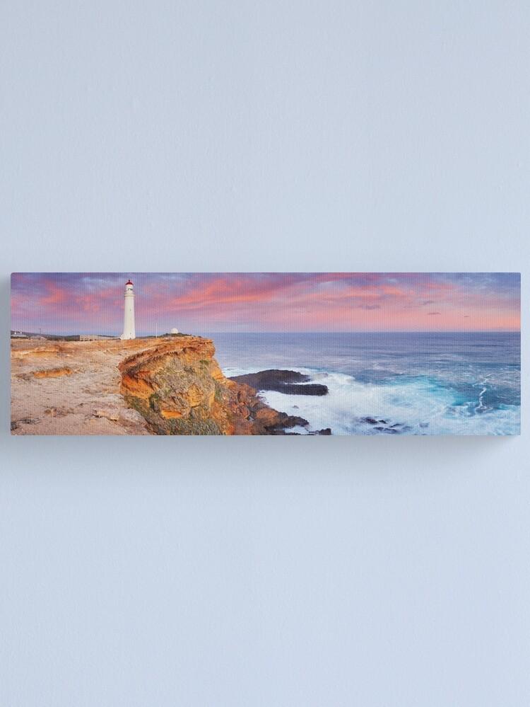 Alternate view of Cape Nelson Lighthouse, Portland, Victoria, Australia Canvas Print