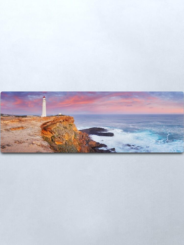 Alternate view of Cape Nelson Lighthouse, Portland, Victoria, Australia Metal Print
