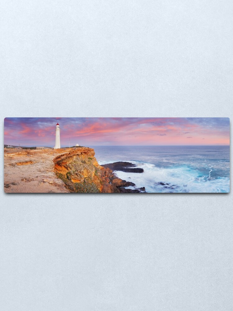 Alternate view of Cape Nelson Lighthouse, Portland, Victoria, Australia Metal Print