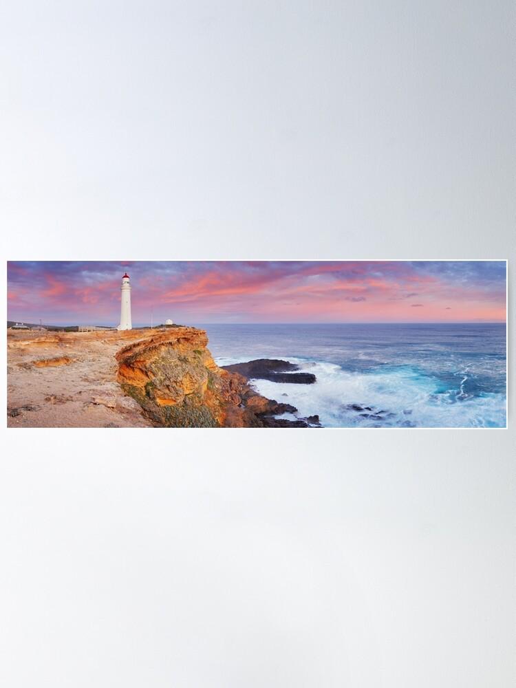 Alternate view of Cape Nelson Lighthouse, Portland, Victoria, Australia Poster