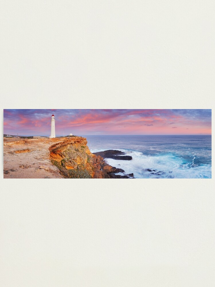 Alternate view of Cape Nelson Lighthouse, Portland, Victoria, Australia Photographic Print