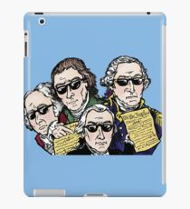 Founding Father Dudes iPad Case/Skin