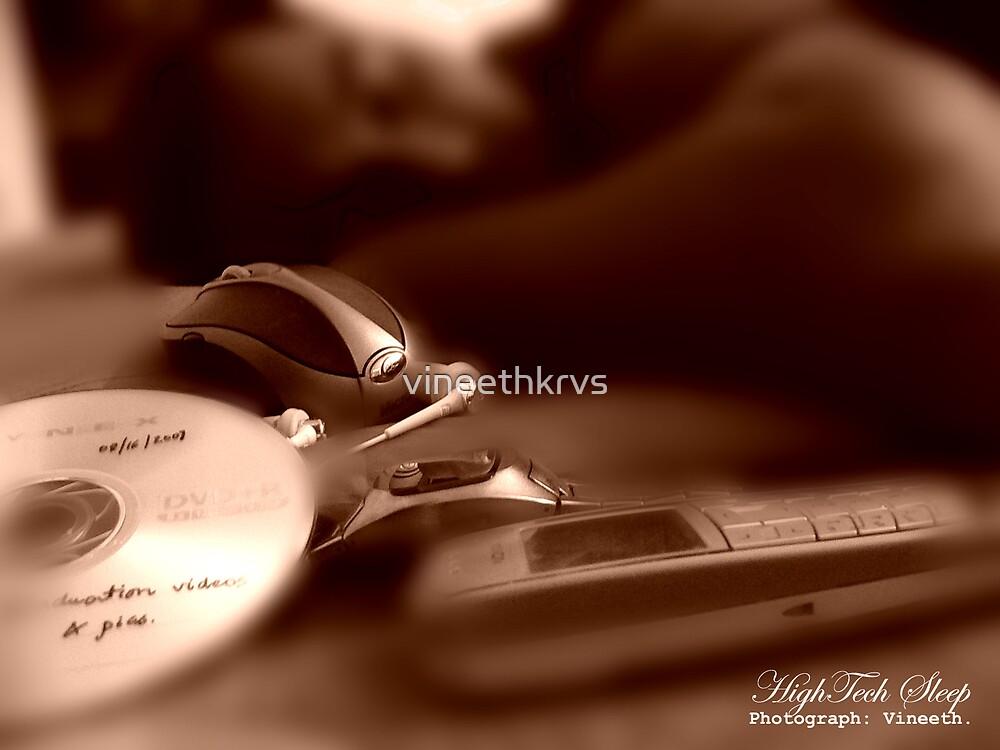 Hightech Sleep by vineethkrvs