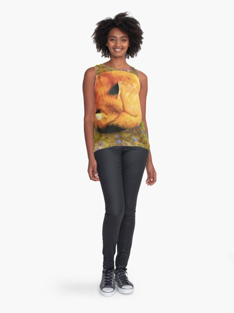Alternate view of The Cozy Fox Sleeveless Top