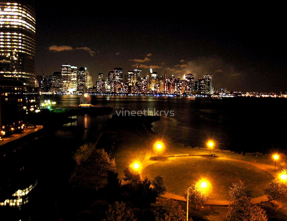 NY skyline by vineethkrvs