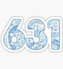 Pegatina 631 - azul