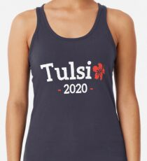 Tulsi Gabbard for President of the United States 2020 Racerback Tank Top