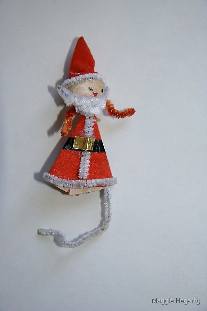 1940 vintage Father Christmas by Maggie Hegarty