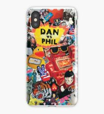 Dan And Phil - Collage Print (Phan) iPhone Case