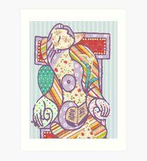 Scrapbook Picasso Art Print