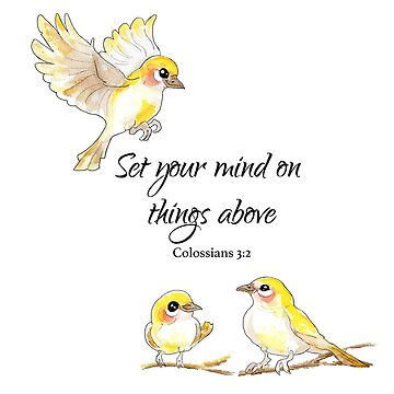 Colossians 3:2 Things Above by pratt-face