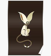 Winged Lemur Poster