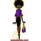 Girl in Purple by AugustPride