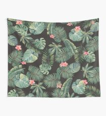 Tropical Leave Pattern Wall Tapestry