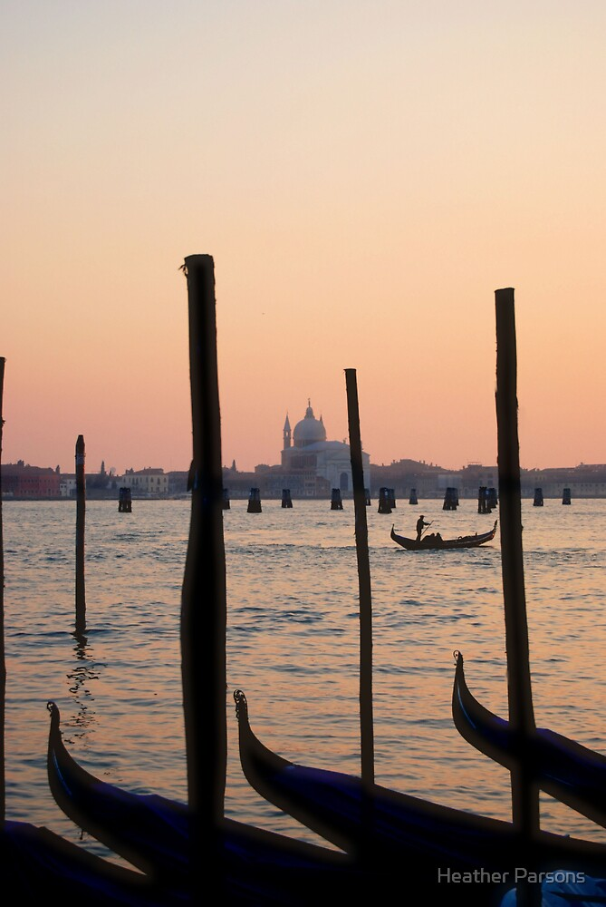 Venetian Sunset by Heather Parsons