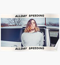 Allday Speeding Poster