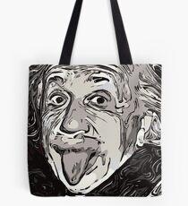 Einstein's tongue (comic) Tote Bag