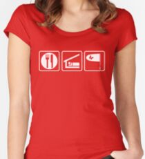 Eat.Sleep.Collect Women's Fitted Scoop T-Shirt