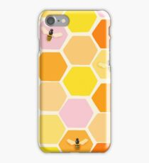 Busy As A Bee In A Hive iPhone Case/Skin