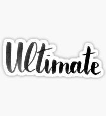 Ultimate Sticker