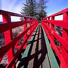 Red Bridge by John Violet
