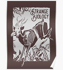 Strange Biology Antelope Skeleton - Offwhite Poster