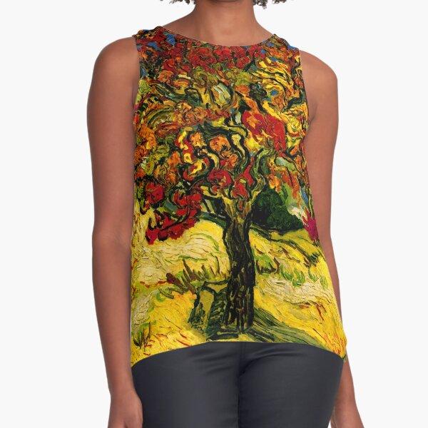 Van Gogh Mulberry Tree Sleeveless Top
