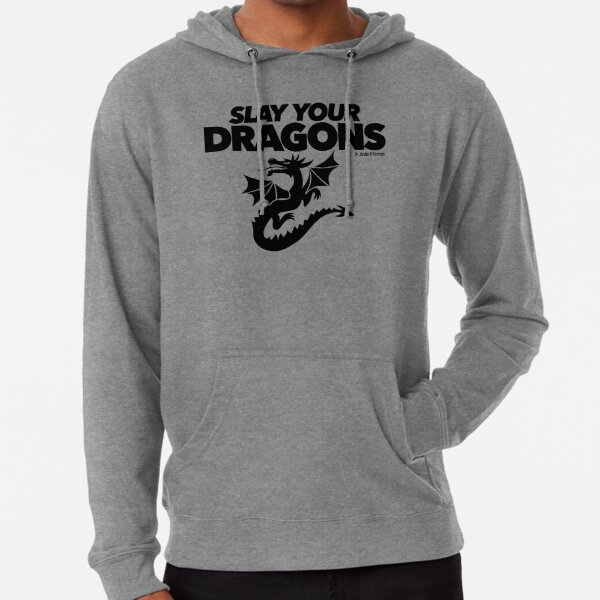 Slay Your Dragons (1) Lightweight Hoodie