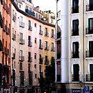 Buildings in Lisbon Portugal  by cs-cookie