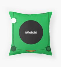 Nintendo Gamecube Green Edition Throw Pillow