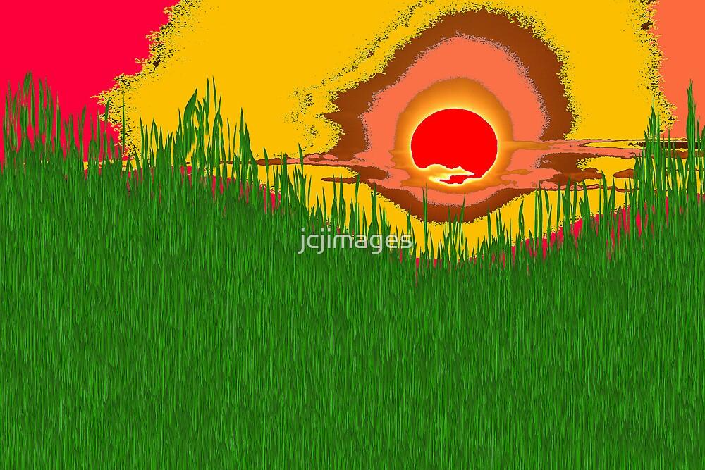Psychedelic  Sunrise by jcjimages