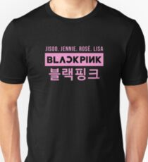 Camiseta ajustada BLACKPINK 07