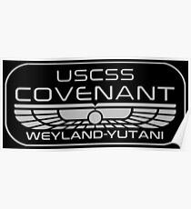 USCSS Covenant-Inspired by Alien Poster