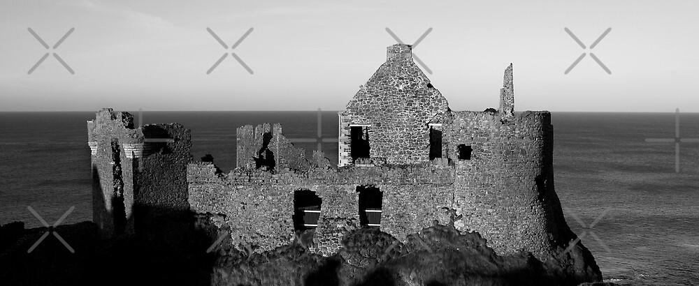 Dunluce Castle....in Mono by Stevie Mancini