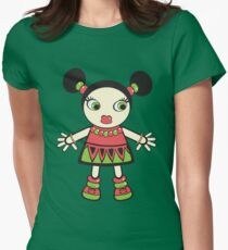 watermelon baby Womens Fitted T-Shirt