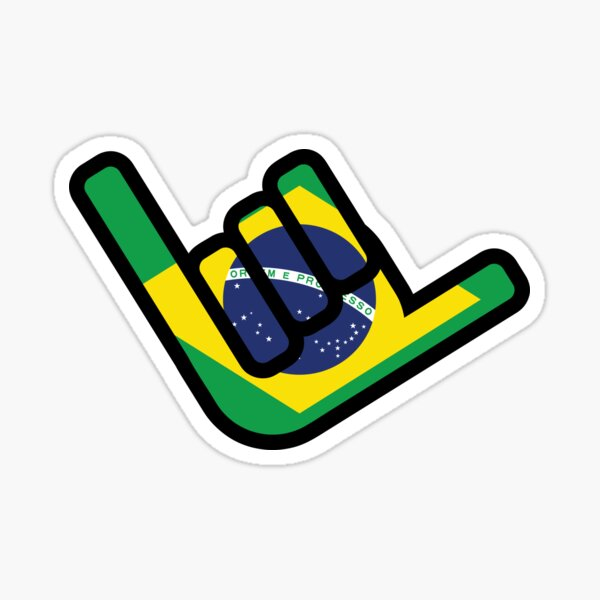 Hang Loose - Brazilian Jiu-Jitsu Sticker