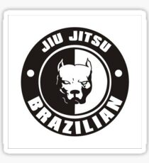 Jiujitsu - Pitbull Sticker
