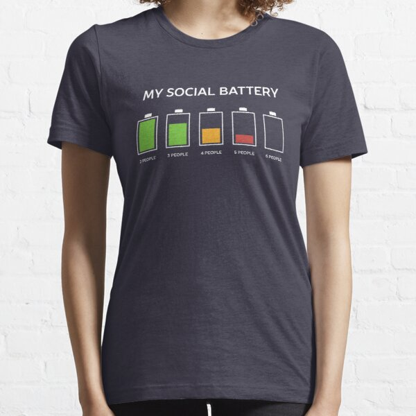 Funny Introvert Humor  Essential T-Shirt