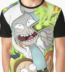 Rick & Morty Series Graphic T-Shirt