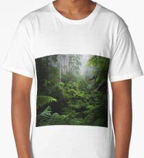 Lush moody rainforest Long T-Shirt