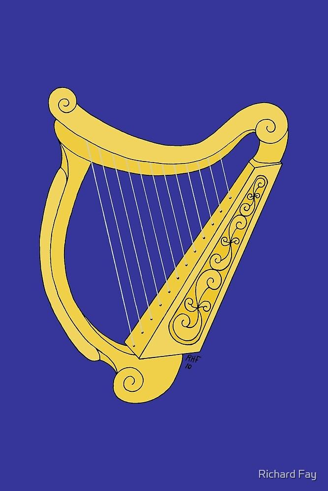 Irish Harp by Richard Fay
