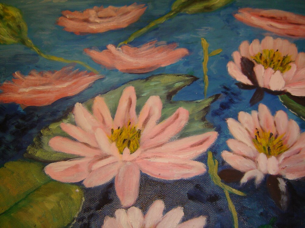 water lilies by margaretfraser