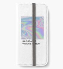 Holographic Pantone iPhone Wallet/Case/Skin