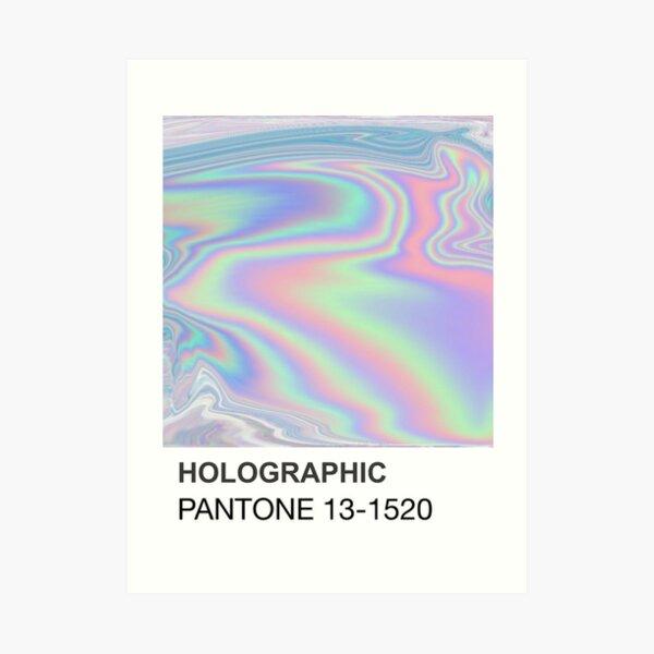 Holographic Pantone Art Print