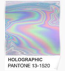 Holographic Pantone Poster