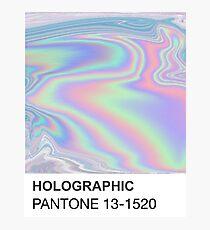 Holographic Pantone Photographic Print