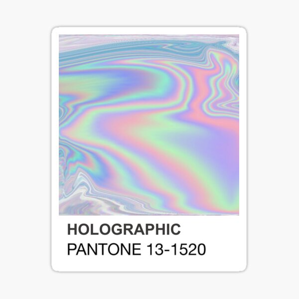 Holographic Pantone Sticker
