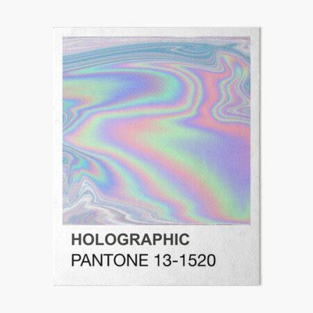 Holographic Pantone Art Board Print